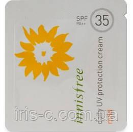 Крем солнцезащитный Innisfree Daily UV Protection Cream Mild SFP35 PA+++ 1мл
