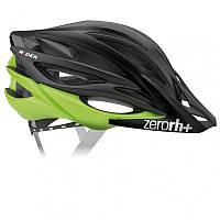 Велошлем ZeroRH+ Rider matt Black-Matt Acid green, XS/M L/XL (MD)
