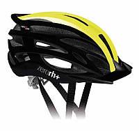 Велошлем ZeroRH+ Z2in1 Shiny Black-Matt yellow Fluo (MD)