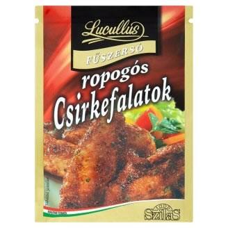 """Для   хрустящей курочки """"Lucullus"""" ropogós csirkefalatok fűszersó 40 g"""