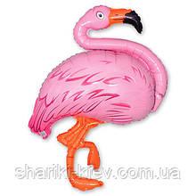 Шар Розовый Фламинго Гелий