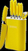 Набор ножей с покрытием Non-Stick со стойкой - RL-6MSTY