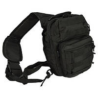 Рюкзак однолямочный MIL-TEC черный