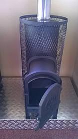 Печь для бани на дровах сталь 6 мм