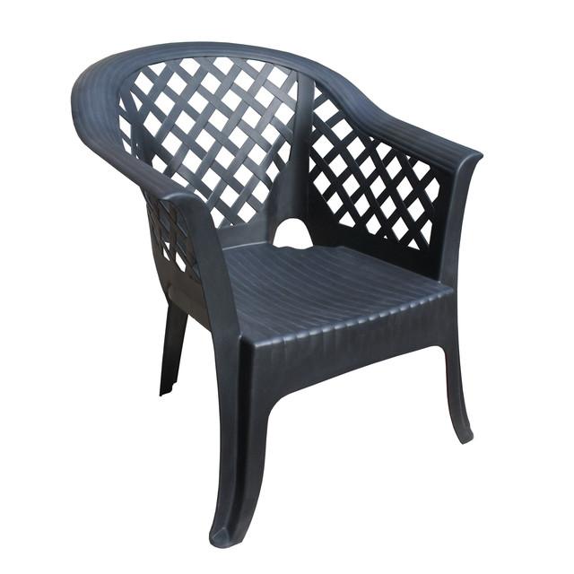 Кресло садовое Lario антрацит