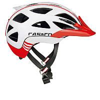 Велошлем Casco Activ 2 white-red shiny (MD)