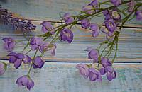 Ветка колокольчиков фиолетовых