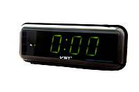 Настольные часы VST-738 -- Зеленое свечение