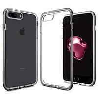 Чехол Spigen для iPhone 7Plus / 8Plus Neo Hybrid Crystal, Gunmetal, фото 1
