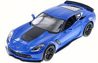 Автомодель 1:24 Chevrolet Corvette Z06 2015 Cиний Maisto (31133 blue), фото 1