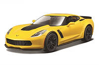 Автомодель 1:24 Chevrolet Corvette Z06 2015 Желтый Maisto (31133 yellow)