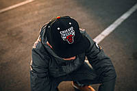 Кепка Liberty Snapback Chicago Bulls Classic Black