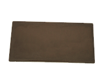 Крышка для фундамента LAND BRICK коричневая 200х400 мм