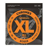 Струны D`ADDARIO ECG23 XL CHROMES EXTRA LIGHT (10-48)