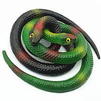 Детская игрушка змея силиконовая длина 70см