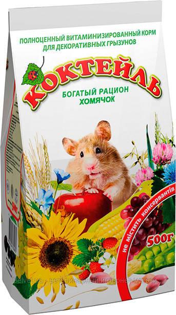 "Корм ""Коктейль Хомячок"" Природа 500 гр"