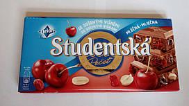 "Молочный шоколад Orion ""Studentska Pecet"" Вишня 180 гр"