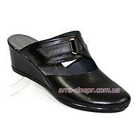 """Сабо женские кожаные черного цвета от производителя ТМ """"Maestro"""", фото 1"""