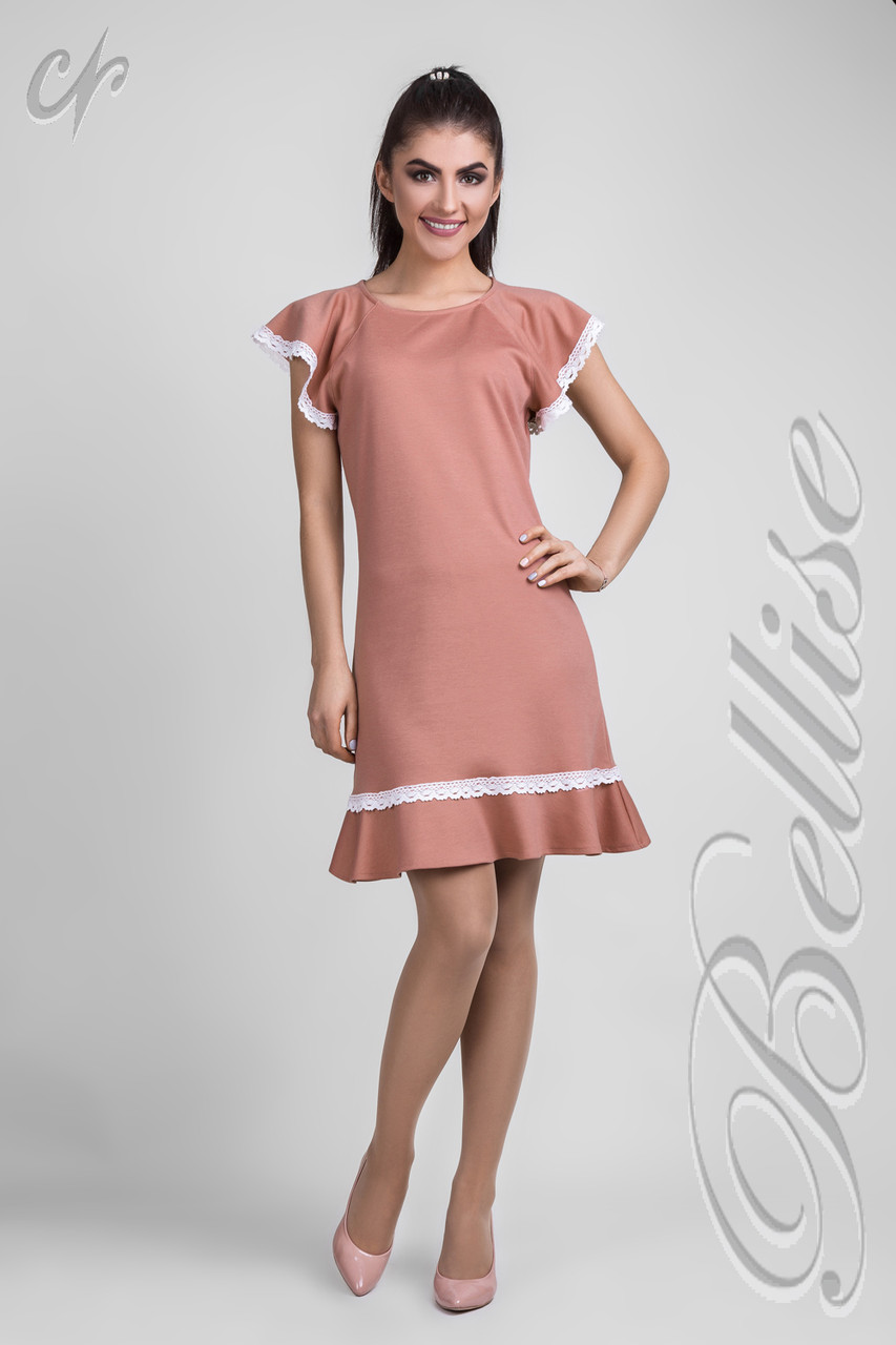 f550b7f984d Купить Нежное летнее трикотажное платье 531259727 - Грация   Стиль