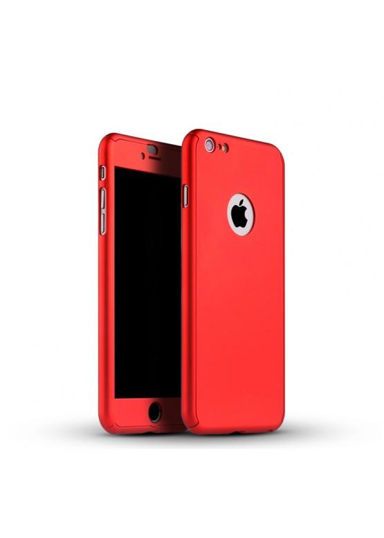 Чехол на 360 градусов для IPhone 6/6s Красный