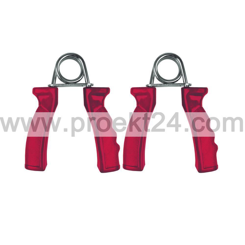 Кистевой эспандер пластик, красный