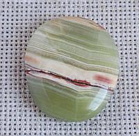 Кальцит с арагонитом плоская галтовка. Камни, минералы