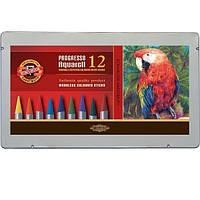 Акварельные цветные карандаши Progresso 12цв. 23608 8782