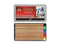 Пастельные карандаши GIOCONDA 32144 набор 12 цв. мет.уп (8827012005PL)