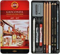 Набор художественный Gioconda 8890 10 предметов 1712