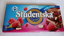 "Молочный шоколад Orion ""Studentska Pecet"" Малина 180 гр"
