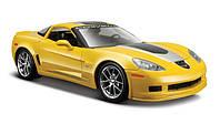 Автомодель Maisto 1:24 Chevrolet Corvette Z06 GT1 2009 Желтый (31203 yellow) , фото 1