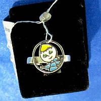 Кольцо серебряное женское Маша