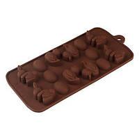 Силиконовая форма для шоколада - Пасхальная