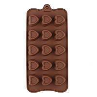 Силиконовая форма для шоколада - Сердца