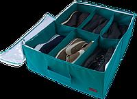 Органайзер для обуви на 6 пар (Лазурь)