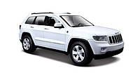 Автомодель Maisto 1:24 Jeep Grand Cherokee 2011 Белый (31205 white)
