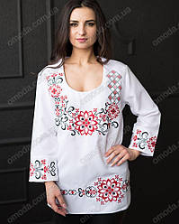 Женская вышиванка - туника Вита размер 44
