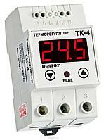 DigiTOP Терморегулятор ТК-4к DIN (одноканальный, без датчика ТХА)