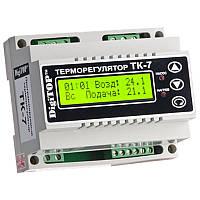 DigiTOP Терморегулятор ТК-7 DIN (трехканальный, датчик DS18B20) с недельным программатором