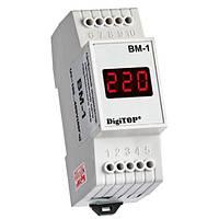 DigiTOP Вольтметр переменного тока Вм-1 DIN однофазный