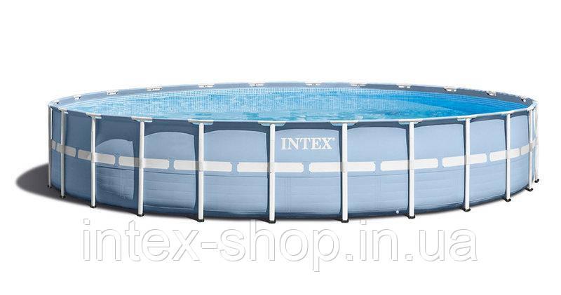 Intex 28762 (732х132 див.) Каркасний басейн Metal Frame Pool