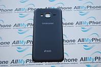 Задняя панель корпуса для мобильного телефона Samsung J320H / DS Galaxy J3 (2016) черная