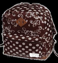 Школьный рюкзак zibi simple brown flowers zb17.0615bf