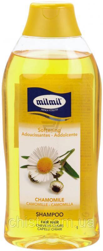 MilMil,Шампунь смягчающий для светлых волос Ромашка 750 мл.Италия
