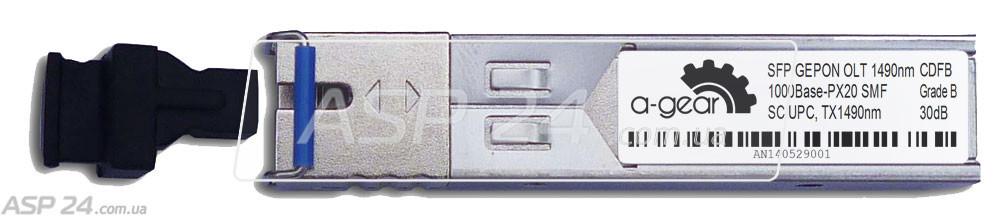 Модуль оптический SFP 1G OLT EPON (GePon) SC - TX1490nm / RX1310nm - PX20++ DDM