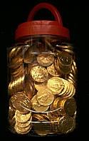 Шоколадные монеты  250 шт.