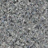 Коммерческий линолеум износостойкий декоративный антискольящий POLYSAFE MOSAIC PUR Orient grey 4135