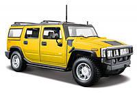 Автомодель Maisto 1:27 Hummer H2 SUV 2003 Желтый (31231 yellow)