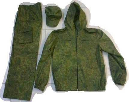 Камуфляжный костюм с капюшоном, фото 2