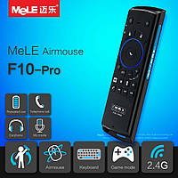 MELE F10 PRO 2.4GHz Wireless Remote Control, Fly Air Mouse, Keyboard with GYRO MIC (3-in-1) for PC / Android /